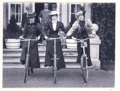 bicycle ladies
