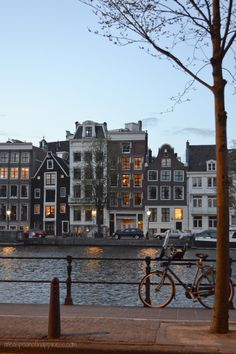 Canal houses in Amsterdam - ateaspoonofhappiness.com