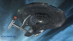 In the Comet's Tail by trekmodeler.deviantart.com on @DeviantArt