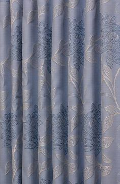 Ambleside China Blue Curtain Material £19 Per Metre
