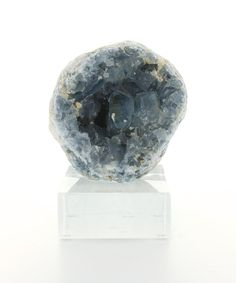 Bliss Mineral Collection Celestite - One look at celestite and you will not need to wonder why celestite is named with a Latin word for heaven