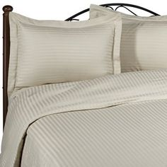 Beige Damask Stripe Olympic Queen Down ALTERNATIVE comforter 750FP FOUR piece set. Set Includes Bed Duvet Cover Sheet with TWO Shams (Pillowcases) made of 1000 Thread Count 100% Long Staple Egyptian Giza Cotton- By Simply Linens by Simply Linens. $299.99. FREE SHIPPING within the Continous United States.Hypo-allergenic Goose Down Alternative Comforter, 750fp, 50oz.. All year medium warmth..Allergy free.Bafle Box stitching design and Side-Gusset for the Maximum wa...