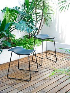 Last Minute by Patricia Urquiola. Indoor & outdoor stool.