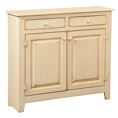 Love this for the foyer!!! Amish Large Console Cabinet | Amish Furniture | Shipshewana Furniture Co.