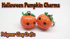 tutorial: miniature Halloween pumpkin charm