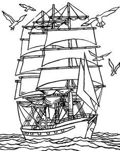 Les 464 meilleures images de coloriage pirates   Coloriage ...