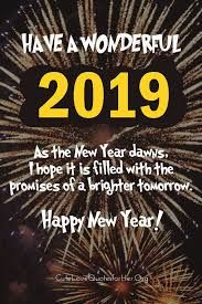 12 Best Happy New Year 2019 Quotes Images