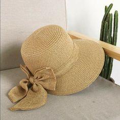 b24d5ae581a25 Women Straw Peaked Hat Wide Large Brim Sombrero de Paja con Gran Visera 2019   Ymsaid  Floppy