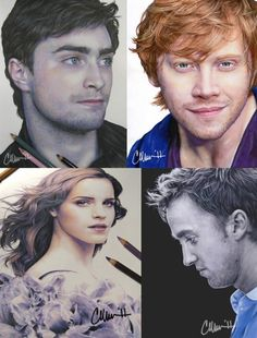 colored pencil drawings... I don't believe it but Rupert looks yum