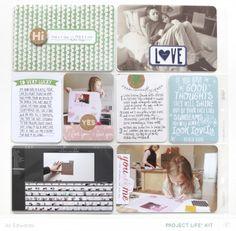 Project Life® 2014 | Week Eight (Studio Calico Project Life® Kit) | Ali Edwards