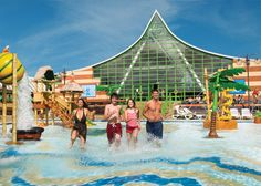 Splash Zone at Vauxhall Holiday Park- perfect way to spend a Summer's day!