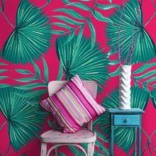 Emerald green leaves a Green Leaves, Emerald Green, Wall Murals, Throw Pillows, Living Room, Wallpaper Murals, Toss Pillows, Murals, Cushions