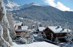 """Recently described in the press as """"The world's greatest chalet"""" , No.14 located in the village of Verbier, Switzerland underwent a major refurbishment Photo (C) Getty Images, AP"""