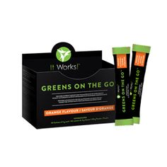 Greens on the Go™ – Orange Flavour | It Works