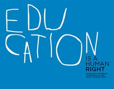 "Check out new work on my @Behance portfolio: ""Charity Campaign: Education is a human right!"" http://be.net/gallery/62262131/Charity-Campaign-Education-is-a-human-right"