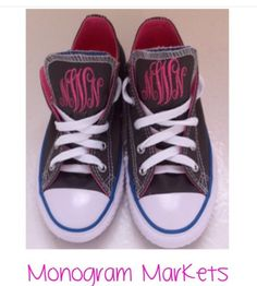 Monogram your converse