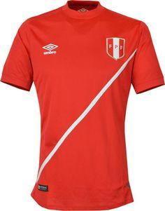 ペルー代表15/16シーズン アウェイ用ユニフォーム。