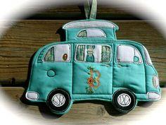 Kundenspezifisch konfektioniert, VW Camper Bus Topfhalter Topfhalter für Camping-Serie