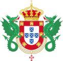 Grande Real Brasão de armas de Portugal