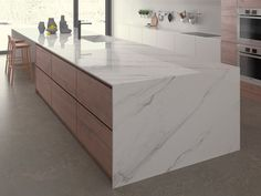 Inalco presents the latest iTOPKer countertops at Cersaie 2017 Küchen Design, Floor Design, Modern Design, Interior Design, Kitchen Worktop, Kitchen Countertops, Casa Milano, Marble Plates, Latest Design Trends