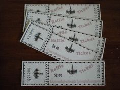 Bridal Shower Raffle Tickets by AnnsEventCreations on Etsy, $13.00