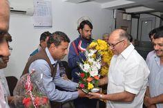 नव-मनोनीत बोर्ड अध्यक्ष – केश कला बोर्ड श्री मोहन मरवाल, अल्पसंख्यक आयोग के सदस्य श्री मुनव्वर खान द्वारा किये गए अभिनन्दन के लिए हार्दिक धन्यवाद।।