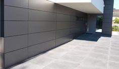 Part GT 300 - Home Module Inspiration - Mobel Door Gate Design, Garage Door Design, Facade Design, House Design, Unique Garage Doors, Garage Door Windows, Cladding Systems, Modern Properties, Garage Door Makeover