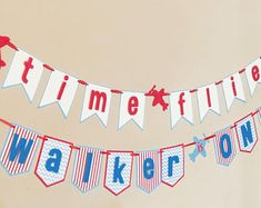 Airplane Birthday Party Theme Banner, boy birthday party ideas for first birthday time flies party First Birthday Party Supplies, Baby Boy First Birthday, Boy Birthday Parties, Girl Birthday, Birthday Ideas, Blue Party Decorations, First Birthday Party Decorations, Planes Birthday, Party Planning