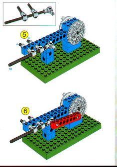 LEGO 1031 Universal Set instructions displayed page by page to help you build this amazing LEGO Technic set Lego Wedo, Lego Mindstorms, Instructions Lego, Lego Simpsons, Lego Technic Sets, Lego Machines, Lego Activities, Free Lego, Lego Group