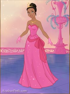 Princess Tiana in her new and beautiful dress in pink from Fairytale Princess dress up game Princess Dress Up Games, Disney Princess, Princesa Tiana, Pink Aesthetic, Pink Dress, Fairytale, Beautiful Dresses, Collage, Pink Sundress