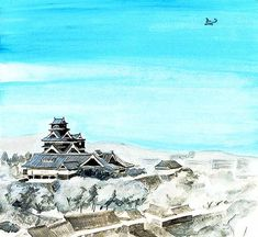 "https://flic.kr/p/22WPQug | 40_01島のエアライン72ppi | the cut of the weekly serial novel on Sunday MAINICHI ""Shima no Airline"" by author Ryo KUROKI"