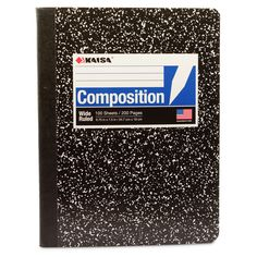 Kaisa Composition Writing Notebook - 100 Sheets, Wide Ruled Rustic Placemats, Composition Writing, Thanksgiving Placemats, Sewing Binding, Writing Notebook, Class Schedule, School Supplies, 2 Log, Placemat Ideas