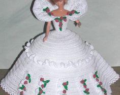 Gehäkelte Puppe Barbie Pattern 653 Kalender von JudysDollPatterns