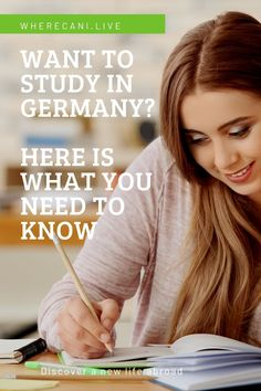 Want to study in Germany? Here is what you need to know. #germany #study #studyinggermany #studyvisa #europe via @wherecanilive Moving To Germany, Business Visa, Research Assistant, Work Visa, Living In Europe, School Counselor, Find A Job, Study Abroad