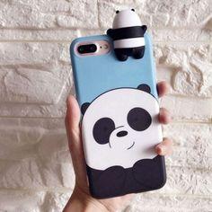 Panda-Bear-Phone-Case-3D-Squishy-Cute-Cartoon-Bear-Polar-Animal-Friend
