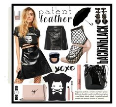 """""""xoxo"""" by seasidedreaming ❤ liked on Polyvore featuring Missguided, Mansur Gavriel, Theory, Grayson, Dolce&Gabbana, H&M, Too Faced Cosmetics, Robert Clergerie, Giuseppe Zanotti and Longines"""