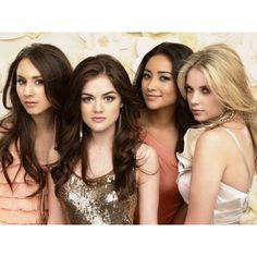 Pretty Little Liars – Season 1 Cast Photoshoot « Jbabzee ❤ liked on Polyvore