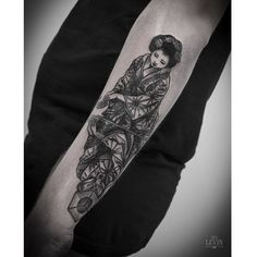 Tattoo by Ien Levin Sacred Art, Nice To Meet, Black And Grey Tattoos, Tattoo Inspiration, I Tattoo, Tattoos For Guys, Tattoo Artists, Tatting, Body Art