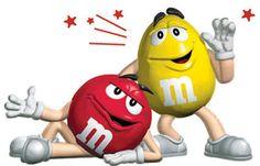 M&M's Chile - Rojo y Amarillo comenzando y deseándoles buena semana!!!