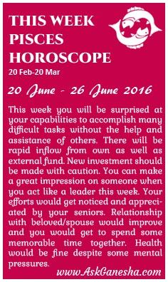 Your Monthly Horoscope