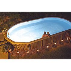 @Overstock - Create a soft, warm glow in your pool with this 50-watt above-ground pool light from NiteLighter. This light comes with hardware and is designed for use on rigid-wall pools, where the bright bulb makes it safe to swim at any hour of the night.http://www.overstock.com/Sports-Toys/NiteLighter-50-Watt-Above-Ground-Pool-Light/3082581/product.html?CID=214117 $78.99