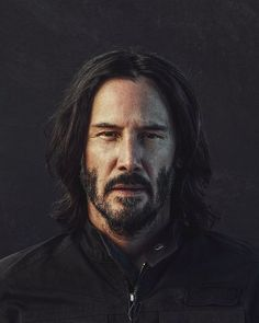 "Keanu Reeves Admits He's A Lonely Guy And Says, ""I Don't bathe or wash my hair. Keanu Reeves John Wick, Keanu Charles Reeves, Keanu Reeves Home, Foto Portrait, Portrait Photography, Into The Woods Movie, Celebrity Portraits, Portrait Inspiration, Male Face"