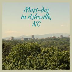 The best things to do and see in Asheville, North Carolina. This charming mountain town in Western North Carolina is known for its' hot foodie scene and many recreational opportunities. Visit Asheville, Asheville North Carolina, Western North Carolina, North Carolina Mountains, East Tennessee, Nashville Tennessee, Landscape Photos, Landscape Photography, National Parks Usa