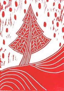 lino print christmas cards - Saferbrowser Yahoo Image Search Results