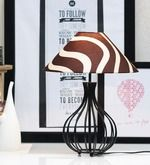 Buy Tu Casa Zebra Pyramid Shade - 13 in by Tu Casa online from Pepperfry. ✓Exclusive Offers ✓Free Shipping ✓EMI Available