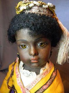 5958.00 UK eBay.   Beautiful antique mulatto Bru