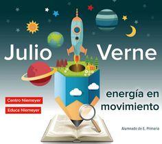 Educa Niemeyer. Julio Verne: Primaria Toothbrush Holder, Portal, Jules Verne, Kid Books, Balloon, Activities, Projects, Centre, Toothbrush Holders