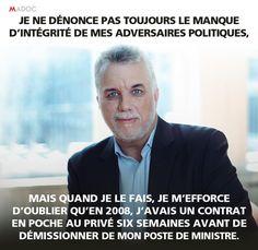 Philippe Couillard, conflits d'intérêts et biographie politique