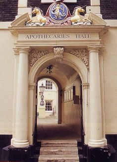 """""""Gallowglass went to Apothecaries' Hall and let out an earsplitting whistle to… Deborah Harkness, A Discovery Of Witches, Apothecaries, All Souls, Fictional World, London Places, Places Of Interest, Magical Creatures, Book Of Life"""