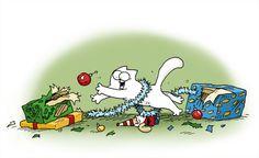 Simon's Cat - Home